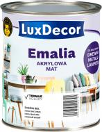Эмаль акриловая LuxDecor Латте светлый коричневый мат 0,75л