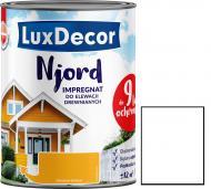 Импрегнат LuxDecor Njord Снег севера мат 0,75 л 0,9 кг