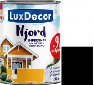Импрегнат LuxDecor Njord Полярная ночь мат 2,5 л 2,75 кг