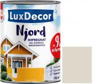 Импрегнат LuxDecor Njord Туманный луг мат 2,5 л 2,75 кг