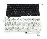 Клавиатура Apple для ноутбука Apple Macbook  A1286/MB985/MB986/MC721/MC723 Black (A52022)