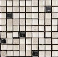 Плитка Cifre Tracia blanco mosaics 30x30