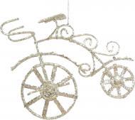 Декорація новорічна Велосипед 10 см