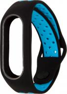 Ремінець для фітнес-браслета Xiaomi Mi Band 2 M1 black/blue
