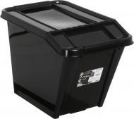 Ящик для зберігання Plast Team 2379 з нахилом 58 л 438x650x395 мм
