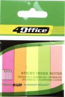 Індексний розділювач неоновий 4-428 4Office