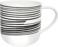 Чашка для чая Coppa 400 мл черные линии 19105014 ASA