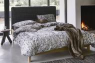 Комплект постельного белья Glance семейный серый с коричневым La Nuit