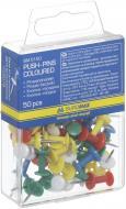 Кнопки-цвяшки Buromax кольорові 50 шт.