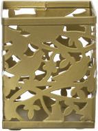 Підставка для ручок Barocco 8,0x 8,0x9,5 см золото