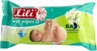 Вологі серветки Lili  Baby з екстрактом ромашки 15 шт.