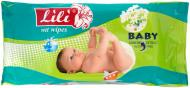 Вологі серветки Lili  Baby з екстрактом ромашки 60 шт.