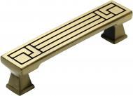 Мебельная ручка скоба Kerron 96 мм RS-027-96 BA античная бронза