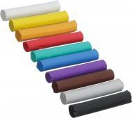 Пластилін Eco Чисті руки 10 кольорів 170 г