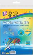 Папір кольоровий двосторонній А4 16 арк. 80 г/м2 CF21101 Cool For School