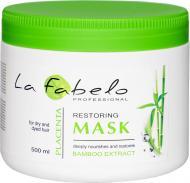 Акція -20% Маска для волосся La Fabelo Bamboo   Placenta Відновлення сухого  та фарбованого волосся 500 мл c46cc22bec827