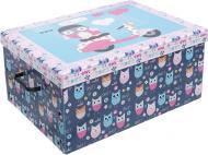 Скриня картонний Miss Space із кришкою Daredevil Owls 240x370x510 мм