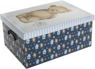 Скриня картонний Miss Space із кришкою Orsacchiotto Azzurro 240x370x510 мм