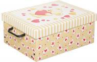 Скриня картонний Miss Space із кришкою Orsacchiotto Crema 160x300x370 мм