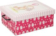 Скриня картонний Miss Space із кришкою Orsacchiotto Rosa 160x300x370 мм