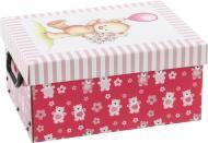 Скриня картонний Miss Space із кришкою Orsacchiotto Rosa 160x250x330 мм