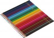 Олівці кольорові Міста 24 шт. K17-055-2 KITE