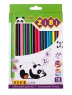 Набір олівців KIDS Line 18 шт. ZB.2415 ZiBi