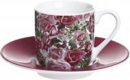 Чашка с блюдцем Sea of Roses 85 мл Konitz