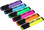 Набір текстових маркерів 4Office 1-5 мм 6 шт. 4-109/6 різнокольоровий