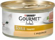 Корм Gourmet Gold паштет з індичкою 85 г