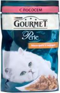 Корм Purina  Gourmet Perle шматочки з лососем 85 г 12061097