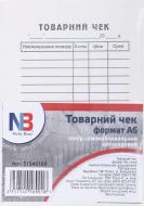Товарний чек А6 папір самокопіювальний двошаровий 100 аркушів Nota Bene