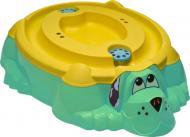 Пісочниця-басейн PalPlay Пес з жовтою кришкою 26679