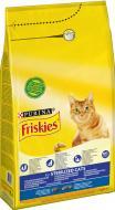 Корм Friskies для кастрованих котів з лососем та овочами 1,5 кг