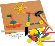 Игра деревянная Bino с молоточком 82188