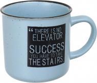 Чашка Motivation Blue 340 мл, керамика Bella Vita
