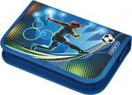 Пенал з наповненням Soccer 31 предмет 50008391 Herlitz синій