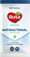 Вологі серветки Ruta Selecta антибактеріальні 15 шт.