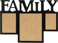 Колаж на 3 фото Family WY1506BL 13х18/10x15/20x30 см