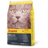 Сухой корм Josera Adult Catelux для взрослых длинношерстных кошек, с уткой, рисом и кукурузой, 400 г