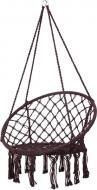 Кресло-гамак UP! (Underprice) плетеное 80x60 см коричневый