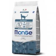 Сухой корм MONGE CAT  Monoprotein Sterilized с форелью 1,5 кг