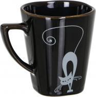 Чашка Серебристые коты 280 мл