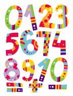 Декоративна наліпка Design stickers Цифри 29.7x42 см