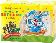 Дитяче мило Невская Косметика з чистотілом 4 шт. 100 г
