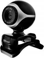 Веб-камера Trust Exis Black-Silver (186790)
