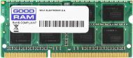 Оперативна пам'ять GOODRAM SODIMM DDR3 4 GB (1x4GB) 1333 MHz (GR1333S364L9S/4G)