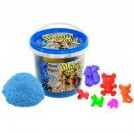 Кинетический песок Strateg Magic Sand в ведре голубой с ароматом черники (372-10)