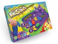 Кінетичний пісок Danko Toys KidSand 1200 г + пісочниця укр. (6)