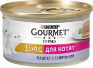 Корм Gourmet Gold паштет з телятиною 85 г